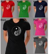 Yin & Yang Los Angeles Pop Art Women's Yin Yang T-Shirt