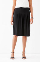 J. Jill Wearever Pleated A-Line Skirt