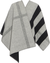 Burberry Wool and cashmere-blend reversible wrap