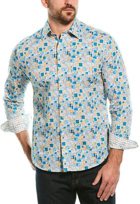 Robert Graham Gage Classic Fit Woven Shirt