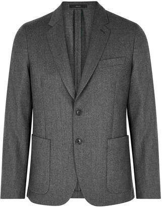 Paul Smith Grey Wool And Cashmere-blend Jacket