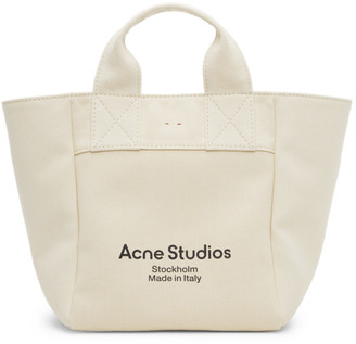 Acne Studios Beige Large Shopper Tote