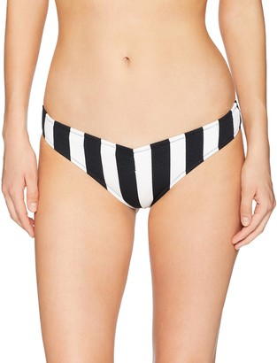 Volcom Junior's Stripe Club V Bikini Bottom