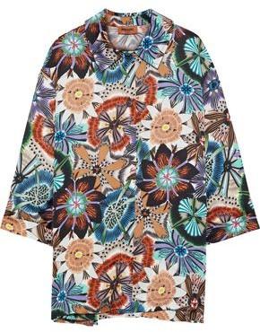 Missoni Floral-print Satin Shirt