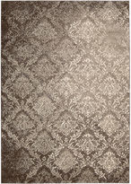 Kathy Ireland Royal Shimmer Wool Shag Rectangular Rug