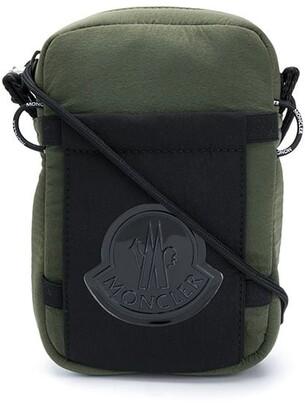 Moncler Logo Patch Shoulder Bag