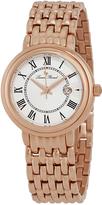 Lucien Piccard Rose Gold & White Fantasia Bracelet Watch