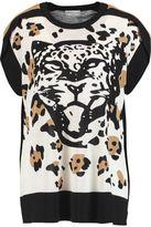 Sonia Rykiel Intarsia Silk And Cotton-Blend Tunic