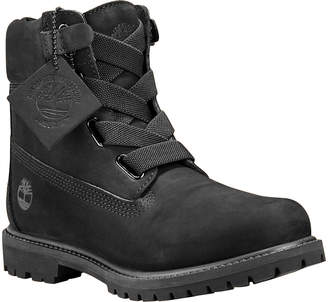 Timberland Women's Casual boots BLACK - Black Waterproof Leather Boot - Women
