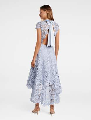 Ever New Chessie Open Back Lace Maxi Dress