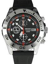 Seiko Men's SNDD95P2 Silicone Quartz Watch