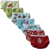 Fruit of the Loom Angry Birds 7 Pack Brief Style Panties for girls