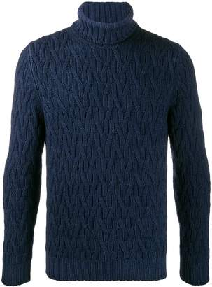 D'aniello La Fileria For chunky knit jumper