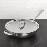 Crate & Barrel All-Clad ® d5 ® Weekday Pan with Lid