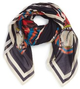Givenchy Women's 4 Imperial Rottweiler Square Scarf