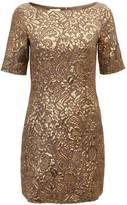 Baum und Pferdgarten Fitted Brocade Dress