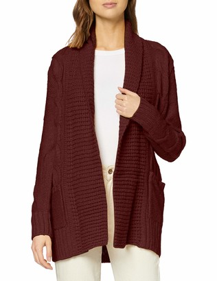 New Look Women's OP19 CABLE MLA CARDIGAN Sweater