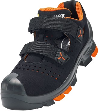 UVEX 6500 2 S1 P SRC Safety Sandals Universal Work Shoes Colour: Black Size 50