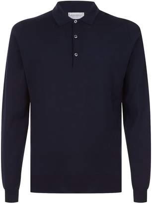 John Smedley Belper Merino Wool Polo Shirt