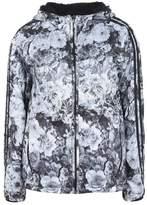 Deha PRINTED HOODED REVERSIBLE WINDBREAKER Jacket