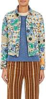 Acne Studios Women's Chea Embroidered Denim Jacket
