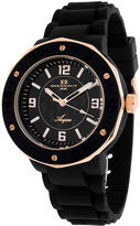 Oceanaut Acqua Womens Black Rubber Bracelet Watch