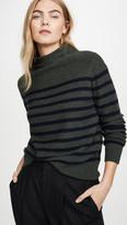 Vince Brenton Stripe Cashmere Sweater