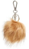 Halogen Faux Fur Pom Bag Charm