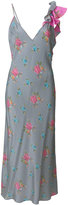 Natasha Zinko floral print ruffle detail dress