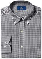 Buttoned Down Men's Slim Fit Button-Collar Large Tatersol Non-Iron Dress Shirt, purple/blue/navy, 17 34 (Satisfaction Guaranteed)