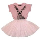 Rock Your Baby Toddler Girl's Little Deer Circus Dress