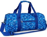 Bixbee 'Large Shark Camo' Sports Duffel Bag (Kids)