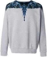Marcelo Burlon County of Milan graphic print sweatshirt - men - Cotton - S