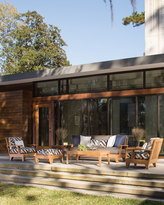 Lane Venture Saranac Teak Outdoor Coffee Table