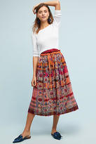 AS KNOW AS Virgo Embroidered Skirt