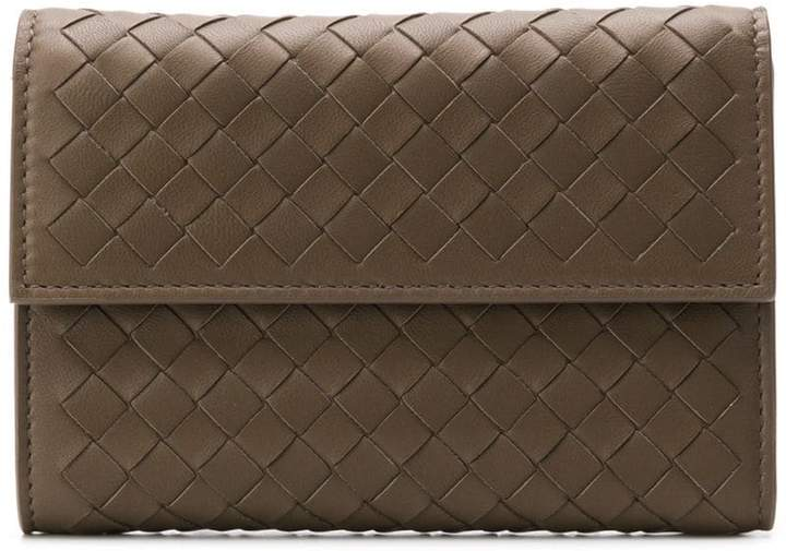 Bottega Veneta mini square wallet