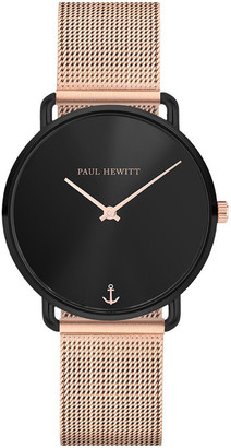 Paul Hewitt PH-M-B-BS-4S Miss Ocean Line Rose Gold Watch