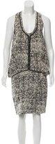 Proenza Schouler Tweed Knee-Length Dress