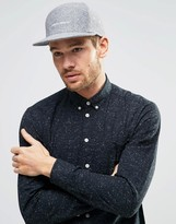 Herschel Foster Cap In Gray Melton Wool