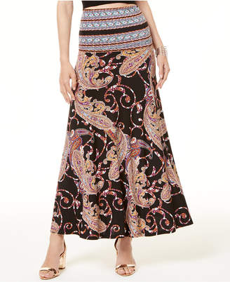 INC International Concepts Inc Petite Printed Maxi Skirt