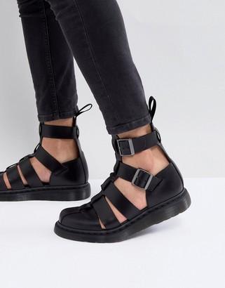 Dr. Martens Geraldo ankle strap sandals in black
