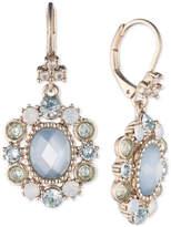 Marchesa Multi-Stone Oval Drop Earrings