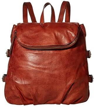 Frye Sindy Backpack (Cognac) Backpack Bags