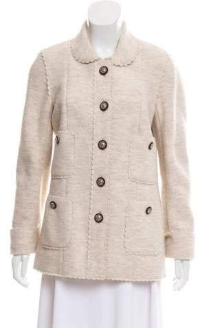 Chanel Paris-Dallas Wool Jacket