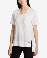 DKNY Cotton High-Low T-Shirt