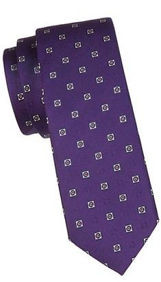 Salvatore Ferragamo Embroidered Silk Tie