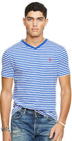 Polo Ralph Lauren Striped Cotton V-Neck T-Shirt