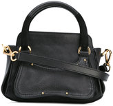 See by Chloe detachable strap tote - women - Cotton/Calf Leather/Sheep Skin/Shearling - One Size