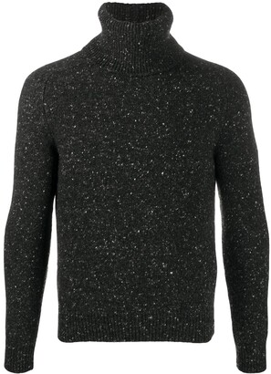 Saint Laurent Turtleneck Knitted Jumper