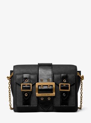 MICHAEL Michael Kors Hayden Medium Saffiano Leather Messenger Bag